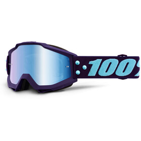 100% Accuri Anti Fog Mirror Goggles, maneuver